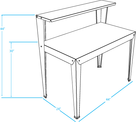 Greenhouse Bench Dimensions