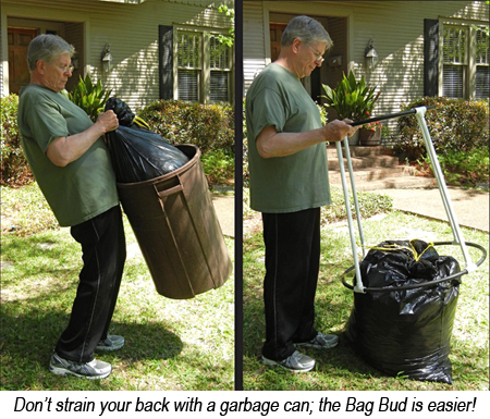 the bag bud demo - Trash Bag Holder