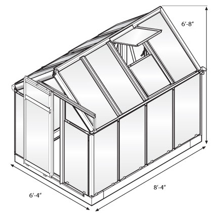 Greenhouse Dimensions