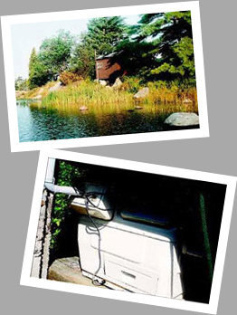 Composting toilet review of Sun-Mar Cenrex 1000 installed at cottage in Pointe au Baril, ON