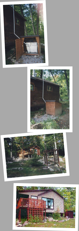 Composting toilet review of Sun-Mar Cenrex 1000 installed in cabin in Martin River, ON