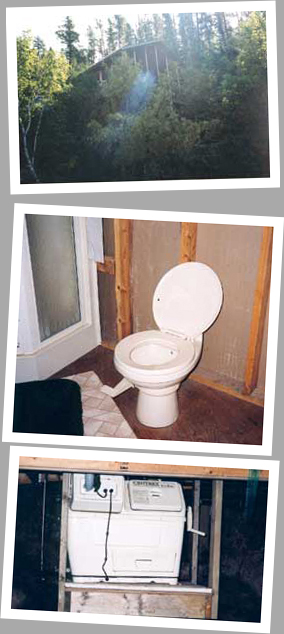Composting toilet review of Sun-Mar Cenrex 1000 installed in cottage in West Hawk Lake, MB