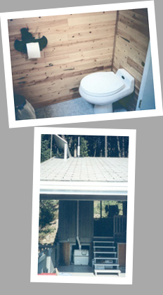 Composting toilet review of Sun-Mar Centrex 1000 NE installed at a lakeside cottage in Canada