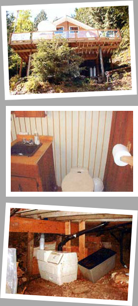 Composting toilet review of Sun-Mar Centrex 1000 NE installed at Harrison Lake, BC