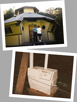 Composting toilet review of Sun-Mar Centrex 1000 NE installed in a cabin in Muscoda, WI