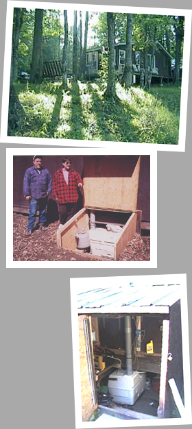 Composting toilet review of Sun-Mar Centrex 1000 NE installed in Poltimore, QC