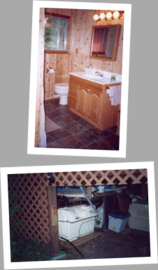 Composting toilet review of Sun-Mar Centrex 2000 installed in cabin at West Hawk Lake, MB