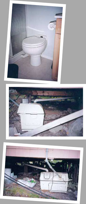 Composting toilet review of Sun-Mar Centrex 2000 installed in cottage in Sandy Lake, ON