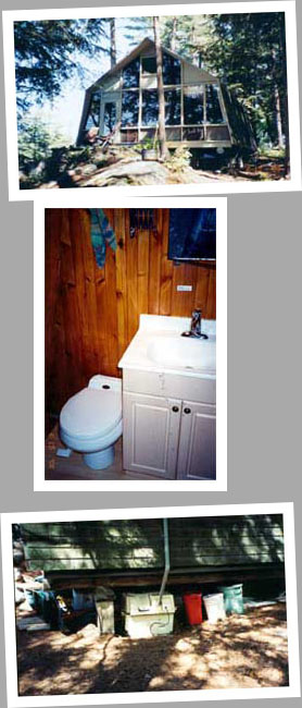 Composting toilet review of Sun-Mar Centrex 2000 installed in cottage in Muskoka, ON