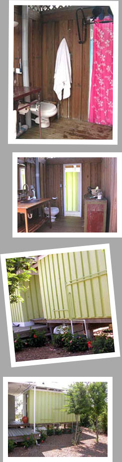 Composting toilet review of Sun-Mar Centrex 2000 NE installed in 10 houses in the Bahamas