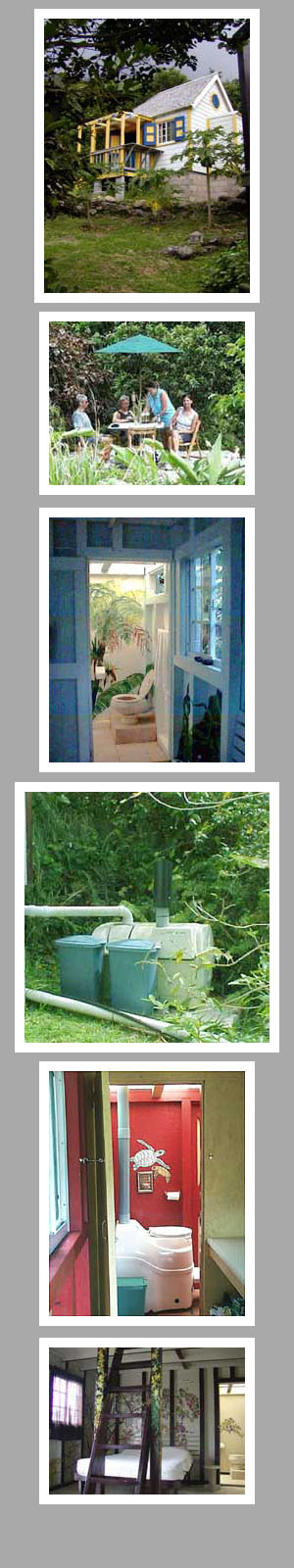 Composting toilet review of Sun-Mar Excel NE installed at Ecolodge Rendez-Vous SABA, Dutch West Indies