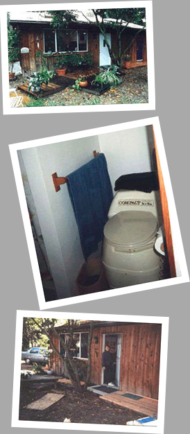 composting toilet review of SunMar Compact model installed in Lincoln Acres, California