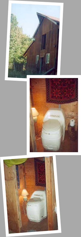 Composting toilet review of Sun-Mar Compact model installed in residence in Central Oregon