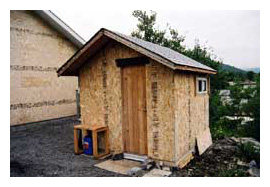 Composting toilet review of a Sun-Mar Compact installed in cabin in Blairmore, Alberta, Canada