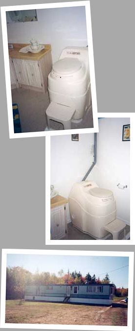 Composting toilet review of Sun-Mar Excel installed at Cottage, NS