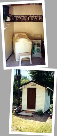 Composting toilet review of Sun-Mar Excel installed in cottage in Apsey Lake, Espanola, ON