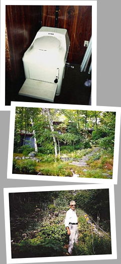 Composting toilet review of Sun-Mar Excel installed in cottage on Healey Lake, ON