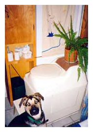 Composting toilet review of Sun-Mar Excel installed in full time residence in Duluth, MN