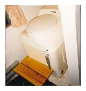 Composting toilet review of Sun-Mar Excel installed in Lake Babtiste, ON