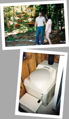 Composting toilet review of Sun-Mar Excel NE installed at cabin at Proudfoot Lake, ON