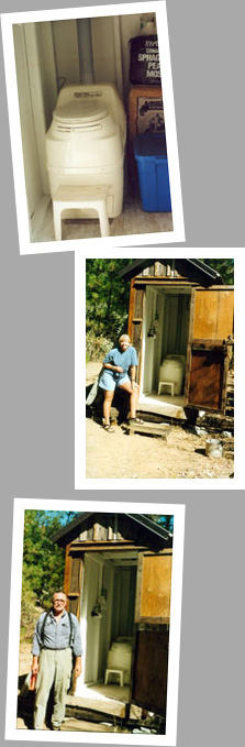 Composting toilet review of a Sun-Mar Excel NE installed at a cabin in Cecilville, CA