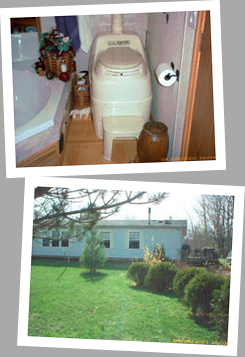 Composting toilet review of Sun-Mar Excel NE installed in Battle Ground, IN