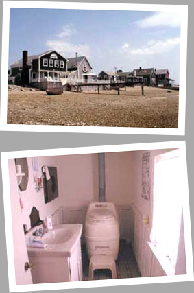 Composting toilet review of Sun-Mar Excel NE installed in a cottage in Cape Cod, MA