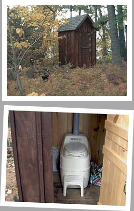 Composting toilet review of Sun-Mar Excel NE installed on Orchard Island, near Pointe at Baril, ON