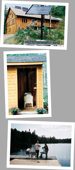 Composting toilet review of Excel NE installed at Omagaki Wilderness Lodge, Ottawa Valley, ON