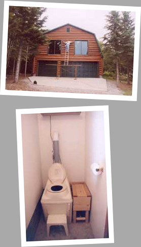 Composting toilet review of Sun-Mar Excel NE installed in a shed in Willmar, MN