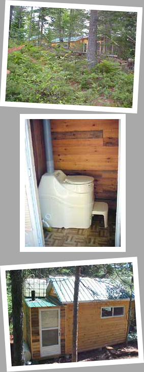 Composting toilet review of Sun-Mar Excel NE installed at cabin in northern QC