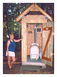 Composting toilet review of a Sun-Mar Excel NE installed at cabin in ON