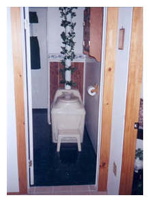 Composting toilet review of Sun-Mar Excel NE installed in Homestead, NY