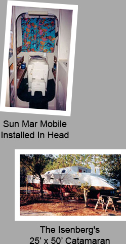 Composting toilet customer review of Sun-Mar Mobile installed near St. Augustine, FL